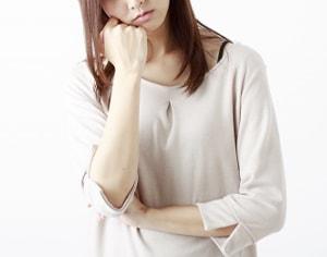 女性の症状